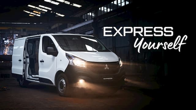 Mitsubishi Express Van - Express Yourself
