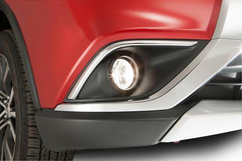 Outlander Fog lamp kit led my
