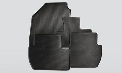 Front and rear mats for the Triton double cab UTEs