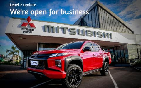 Mitsubishi dealership alert 2 COVID, Triton